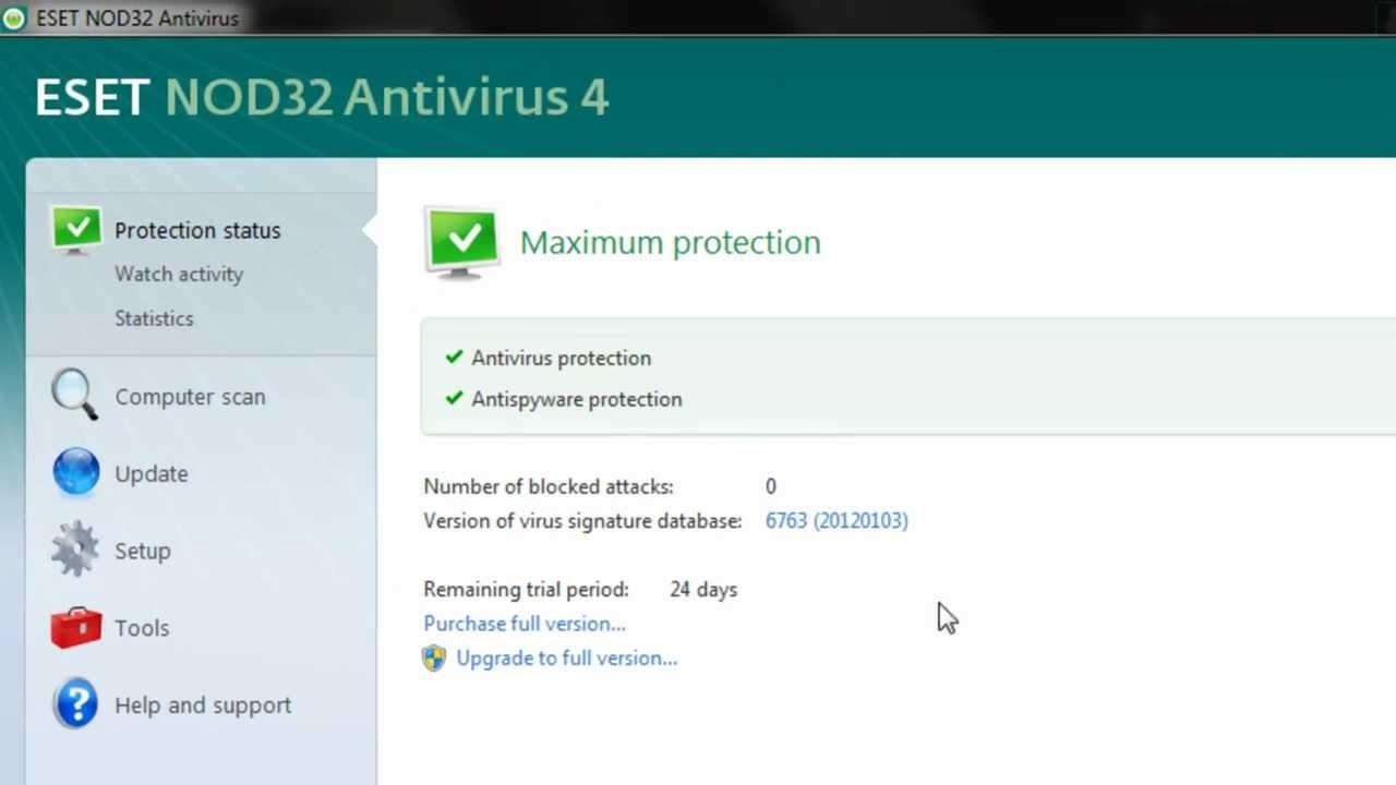 Eset Nod32 Antivirus 5 License Key