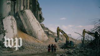 Visit to Beirut's port shows devastation from explosion