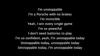 Sia - Unstoppable lyrics