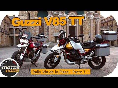Con la Guzzi V85TT en la Ruta Vía de la Plata | Primera Parte