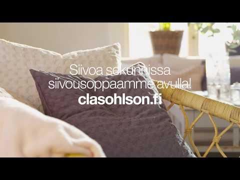 Siivoa sekunneissa - Clas Ohlson