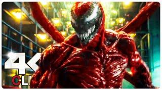 Venom Vs Carnage - Fight Scene   VENOM 2 LET THERE BE CARNAGE (NEW 2021) Movie CLIP 4K