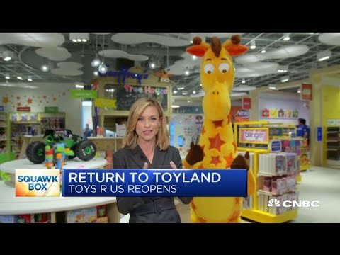 Toys R Us opens a new store at the Garden State Plaza mall in New Jersey