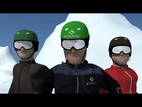 Xtravel Animated Commercial www.xtravel.se