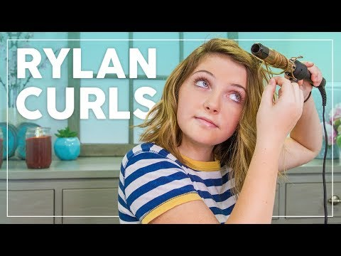 Rylan Creates Quick, Easy Wand Curls for Short Hair!