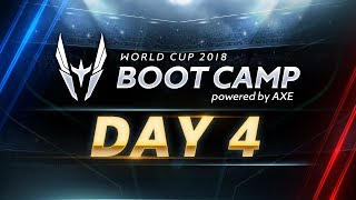 RoV : World Cup Bootcamp 2018 (Group Stage) Day 4