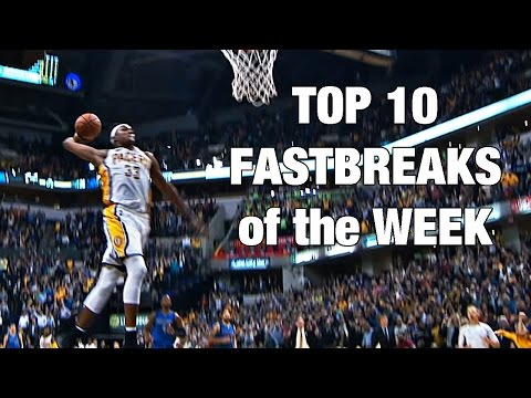 Top 10 NBA Fast Breaks: Oct. 25-Oct. 29