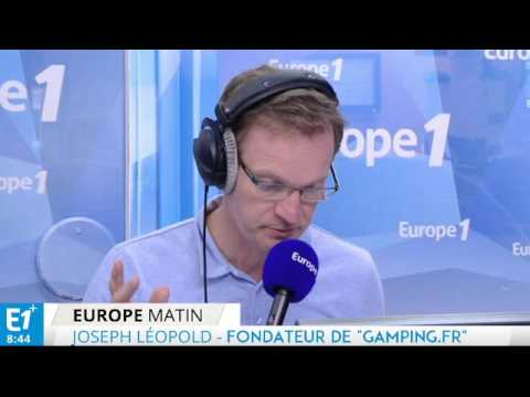 Gamping - Interview Europe 1 du 29 Juillet 2015