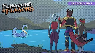 """Fungeons & Flagons - S2Ep4 """"Face Off at Swan Pond"""""""