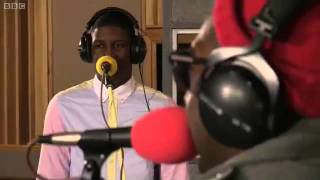 Labrinth Tinie Tempah Earthquake BBC Radio 1 Live Lounge 2011