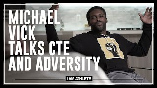 Michael Vick Talks CTE & Adversity | I AM ATHLETE with Brandon Marshall, Chad Johnson & More