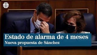 Sánchez propone que el Interterritorial y no el Congreso revise el estado de alarma en 4 meses