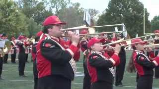'Halftime Performance (10.17.15) - Pride of the Plains Marching Band