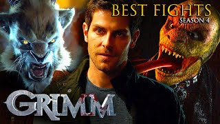 The Best Fights of Season 4 | Grimm