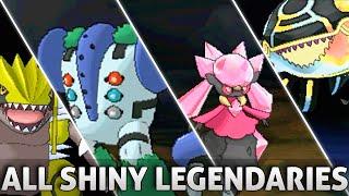 Pokemon ORAS: All SHINY Legendary Pokemon and Forms w/ Signature Moves! (Omega Ruby Alpha Sapphire)