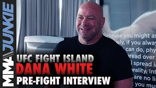 Dana White: 'Motivated' Conor McGregor is back, responds to CTE story | UFC 257 interview
