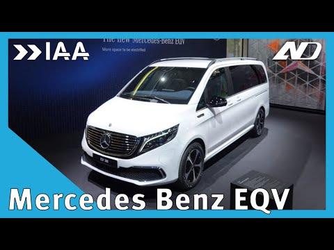 La minivan de Mercedes ahora es eléctrica: Mercedes-Benz EQV - IAA2019