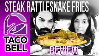 Taco Bell - Rattesnake Fries Fast Food REVIEW