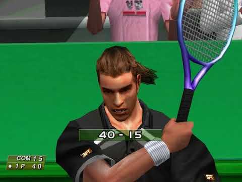 Virtua Tennis (Arcade Mode: Bruno Costa) (Hitmaker, Strangelite) (Windows) [2002] PC Longplay