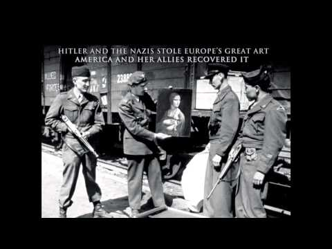 The Monuments Men by Robert M. Edsel - YouTube