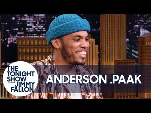 Anderson .Paak Butt Heads with Dr. Dre in the Studio