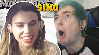 REACTING TO POPULARMMOS & DANTDM SING THEIR INTRO SONG!!!