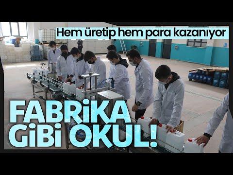 Fabrika Gibi Okul, Öğrenciler Hem Üretip Hem Para Kazanıyor
