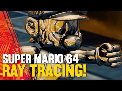 Super Mario in Ray Tracing è tutto un a …