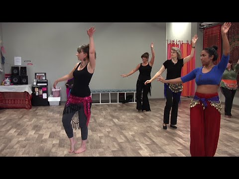 screenshot of youtube video titled [STUDENT VIDEO] A Glimpse into Belly Dancing in Spartanburg (small thumbnail)