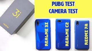 Realme 3i Full Comparison: vs Realme C2, Redmi 7A | PUBG Test | Camera Comparison | Price in India