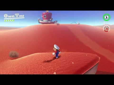 Jugando un rato a Super Mario Odyssey