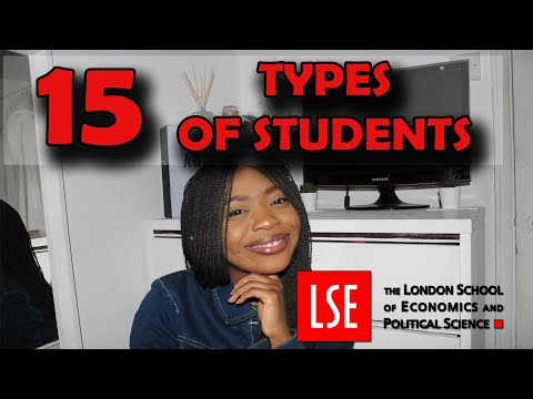 15 types of students at LSE