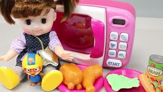 Food cutting and Baby doll 2018 for kids baby doll refrigerator kitchen toys