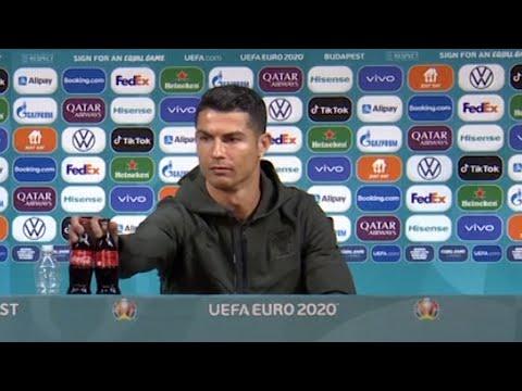 Coca-Cola loses $4 billion as Cristiano Ronaldo removes its bottles in press meet, endorses water
