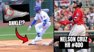 Kris Bryant BREAKS Ankle In Loss? Nelson Cruz Joins BARRY BONDS In HR History (MLB Recap)