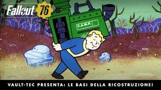 Fallout 76 – Vault-Tec presenta: Le basi della ricostruzione! Video su creazione e costruzione