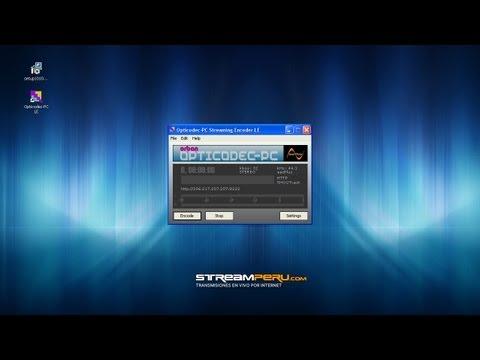 Manual: Transmitir una Radio Online con Opticodec-PC de Orban