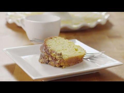 Dessert Recipes - How to Make Golden Rum Cake