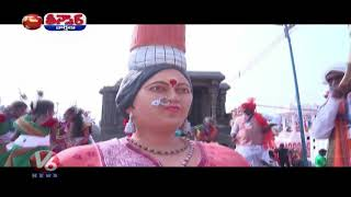 Telangana tableau showcases Sammakka Saralamma Jatara in R..