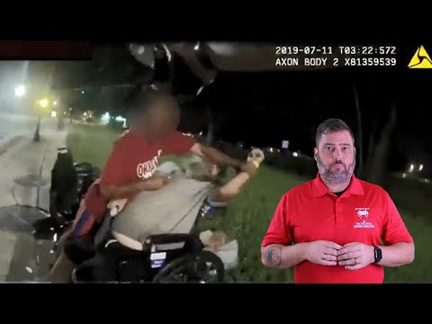 Jacksonville Officer Stops Threat To Disabled Veteran