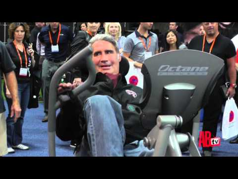 Augie Nieto Exercises at IHRSA 2013 - YouTube
