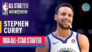 Stephen Curry 2018 All-Star Captain   Best Highlights 2017-2018