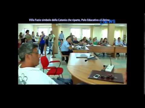 Tg DNews, conferenza stampa lancio Polo Educativo Librino Villa Fazio