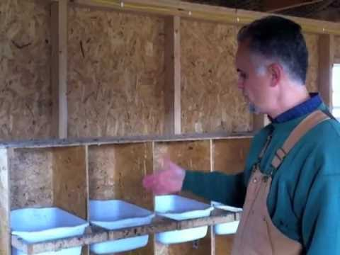 Chicken Nesting Boxes Youtube