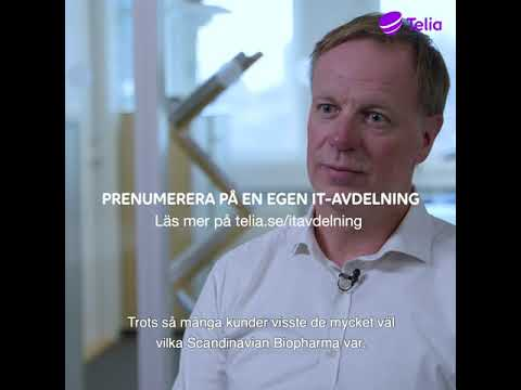 Telia | IT-avdelning Scandinavian Biopharma