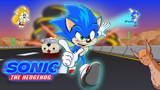 Basically the Sonic Movie: The COMPLETE SERIES (Sonic the Hedgehog Movie Animation Parody)