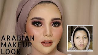 ARABIAN MAKEUP LOOK | NYOBA | UCHYLESTARI