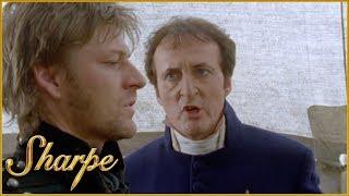 Sharpe Apologises To Lieutenant Ayres | Sharpe
