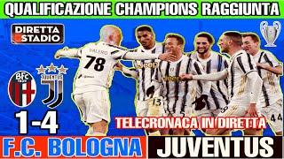 Bologna-Juventus 1-4 con Valerio Pavesi e Tiziano Crudeli che #ESULTANO!!!
