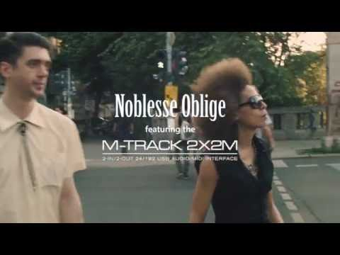 M-Audio || M-Track 2X2M feat. Noblesse Oblige
